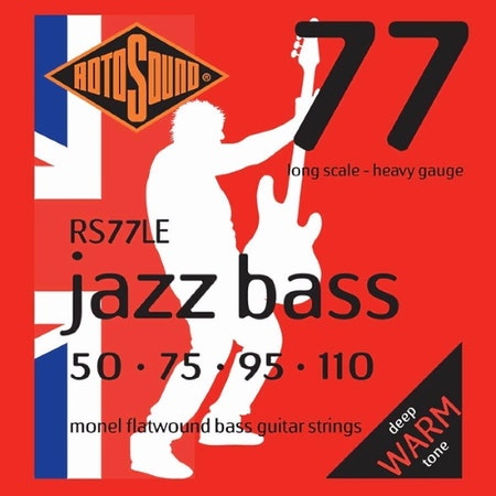 Rotosound Jazz Bass RS77LE 50-110