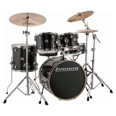 "Ludwig Element Evolution 20"" - Black Sparkle"