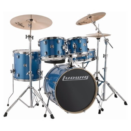 "Ludwig Element Evolution 20"" - Blue Sparkle"