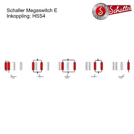 5-Läges Switch Schaller Megaswitch E