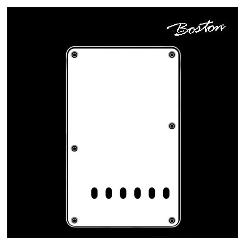 Boston Strat Teremolo back plate BP-313-VW