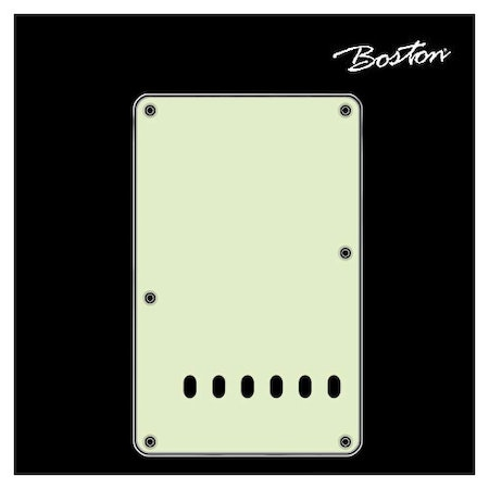 Boston Strat Teremolo back plate BP-313-M