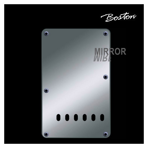 Boston Strat Teremolo back plate BP-213-MC