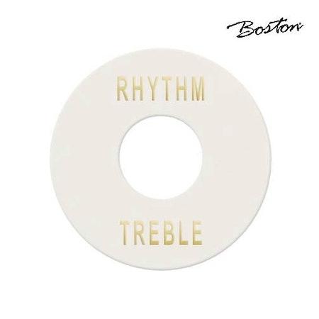 Platta för omkopplare Boston EP-508-W