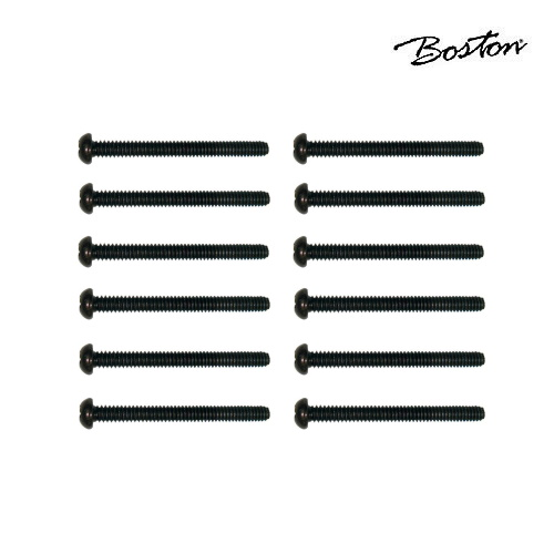 Skruv för pickup 3 x 26 mm Boston PS-17-BK