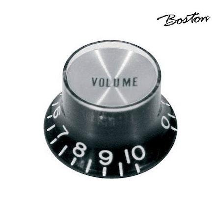 Bell Knob SG volym inch Boston KB-134-V