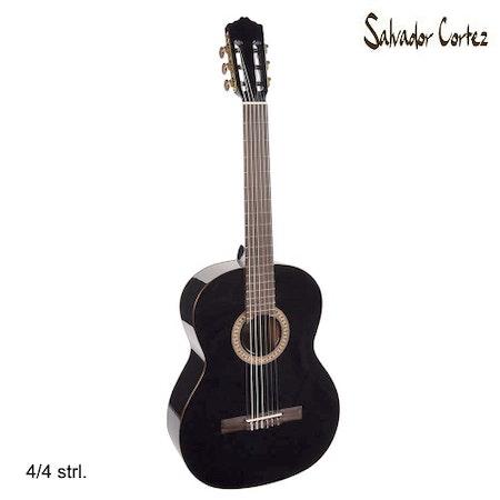 Klassisk Gitarr Salvador Cortez CC-22-BK