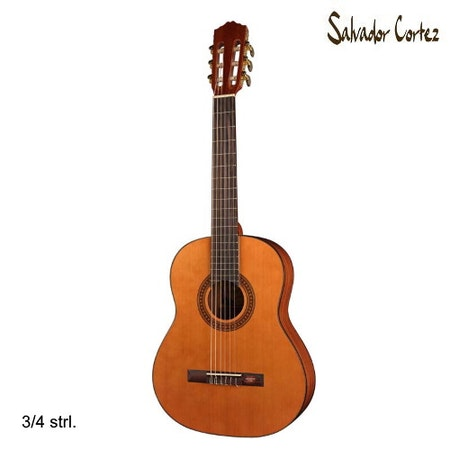 Klassisk Gitarr Salvador Cortez CC-10-JR
