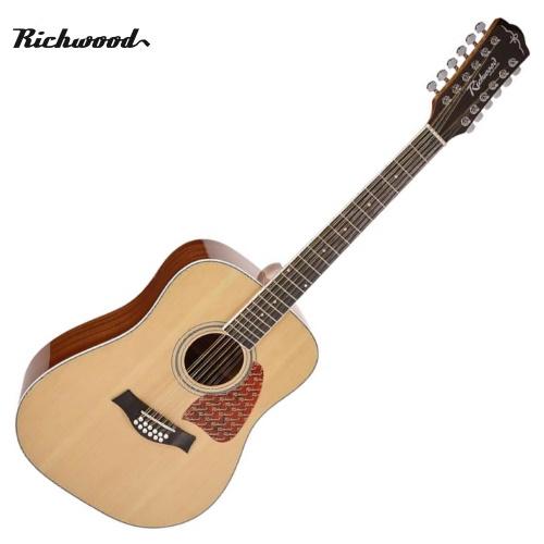 Akustisk 12-strängad Richwood RD-17-12