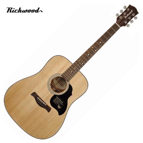 Akustisk stålsträngad Richwood D-40