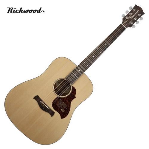 Akustisk stålsträngad Richwood D-20