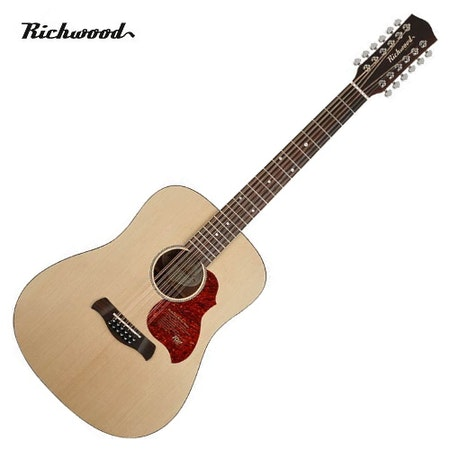 Akustisk 12-strängad Richwood D-2012