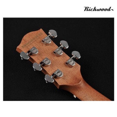 Akustisk stålsträngad Richwood D-20-E