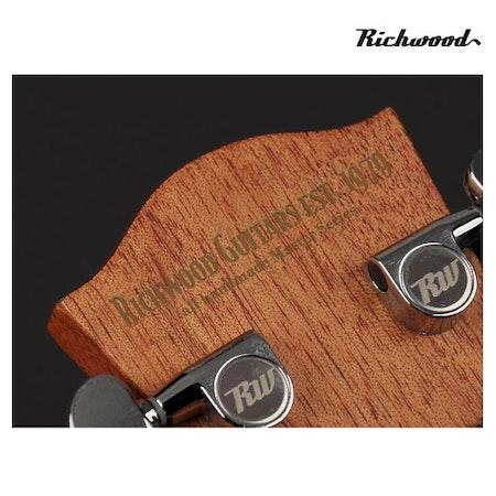 Akustisk stålsträngad Richwood D-20-CE