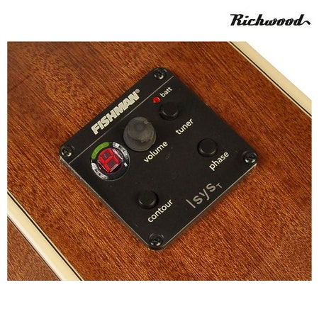 Akustisk stålsträngad Richwood RD-17-CE