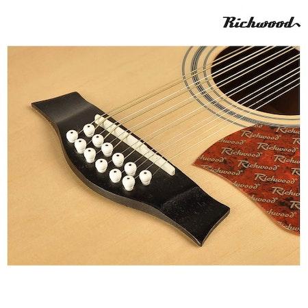 Akustisk 12-strängad Richwood RD-1712-CE