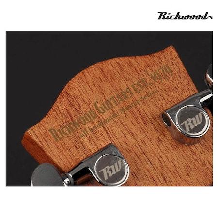 Akustisk stålsträngad Richwood D-40-CE