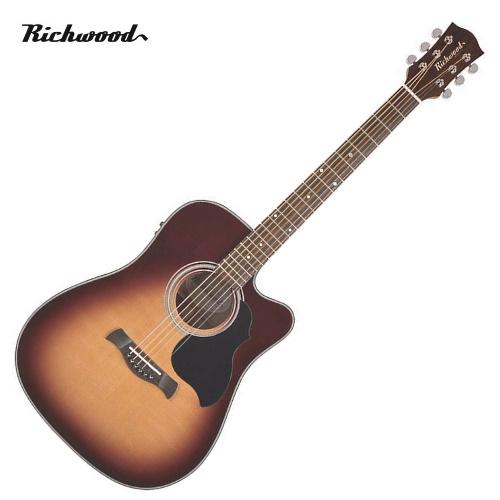 Akustisk stålsträngad Richwood D-40-CESB
