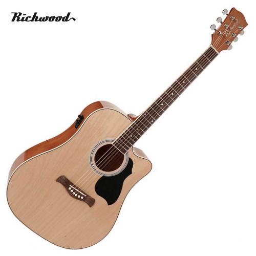 Akustisk stålsträngad Richwood RD-12-CE