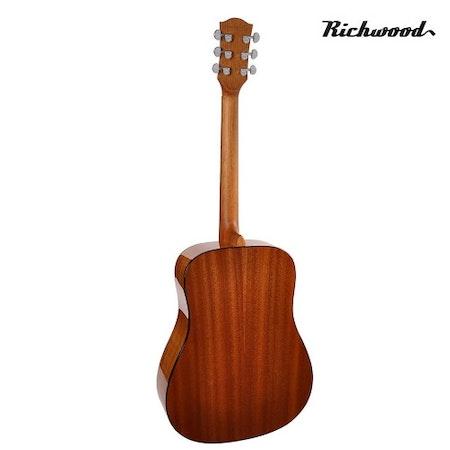 Akustisk stålsträngad Richwood D-40-SB