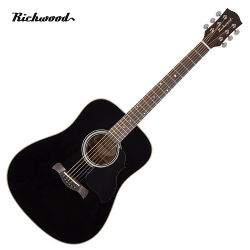 Akustisk stålsträngad Richwood D-40-BK