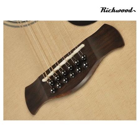 Akustisk 12-strängad Richwood D-4012