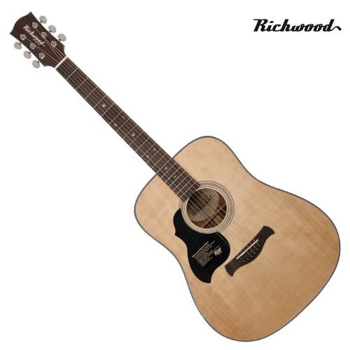 Akustisk stålsträngad Richwood D-40L