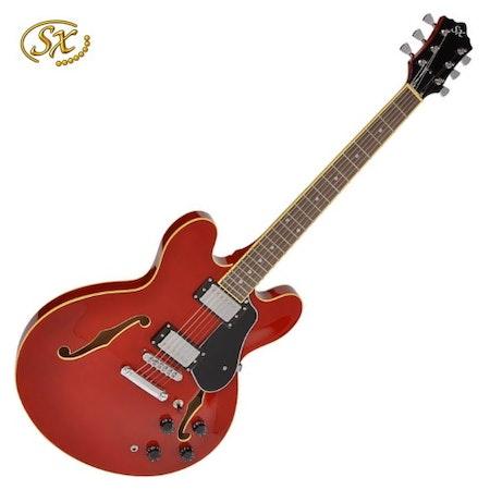 Elgitarr Halvakustisk SX GG5-STD-CH