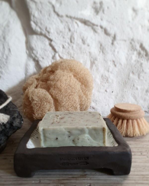 Handgjord ekologisk tvål Eukalyptus