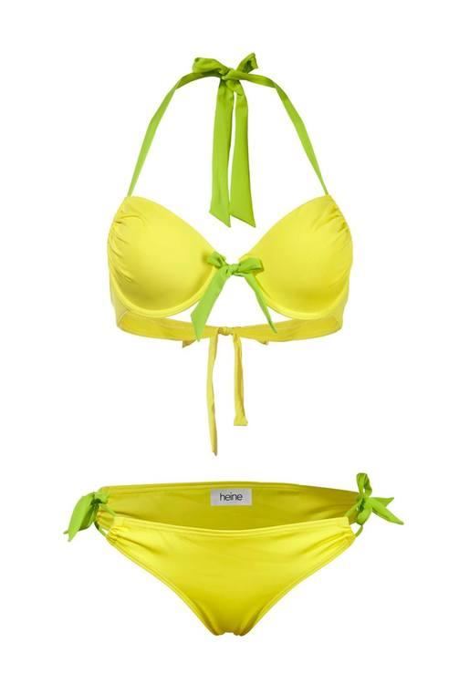 Gul bikini set