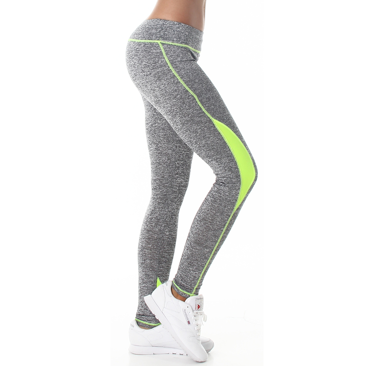 Leggings grå-gula