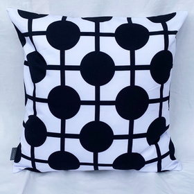 Pillow Hiddenshe White/Black