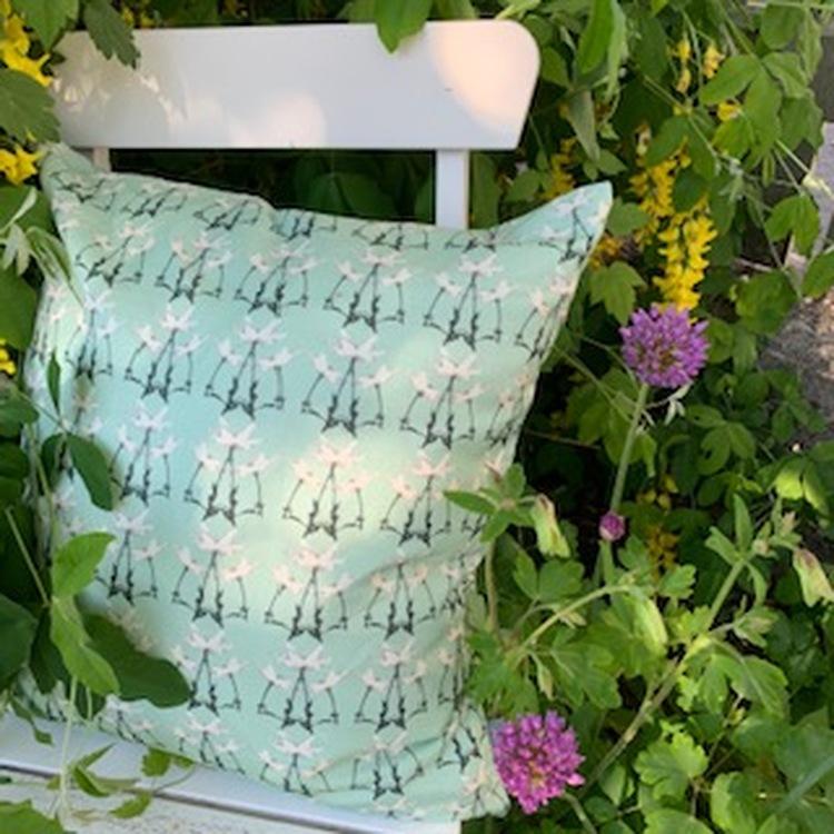 Pillow Springtime Green