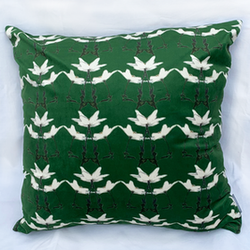 Pillow Spring Forrest Green