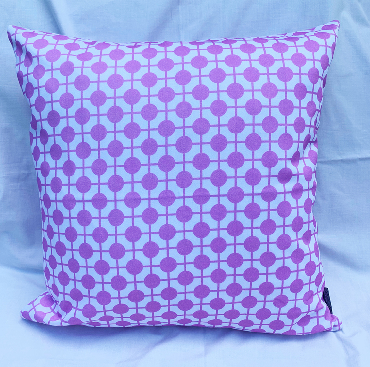 Pillow Hiddenshe White/Pink