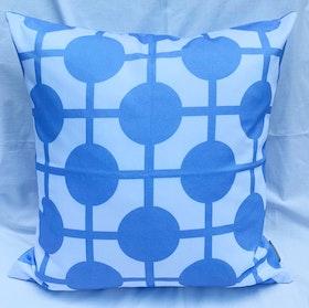 Pillow Hiddenshe White/Blue