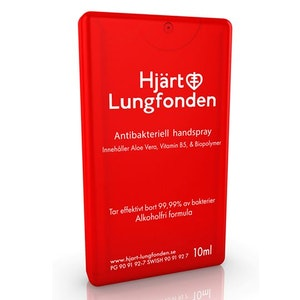 3-pack Hjärt & Lungfondens antibakteriella spray 10 ml