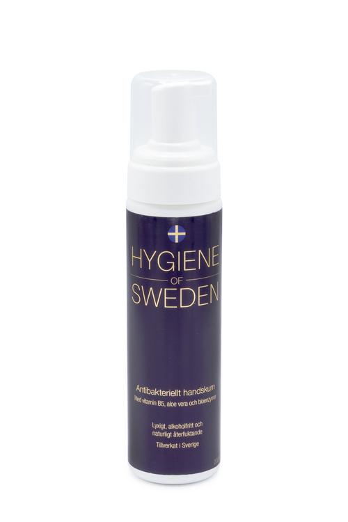 6-pack Hygiene of Sweden 200 ml handskum