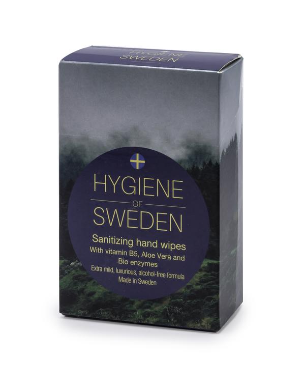 10 askar Hygiene of Sweden 10-pack wipes