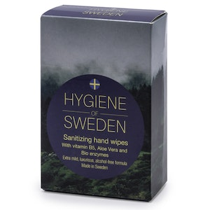 10 askar Hygiene of Sweden 10-pack wipes
