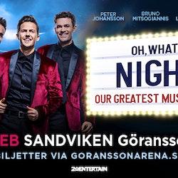 Res till OH, WHAT A NIGHT från Borlänge - Falun