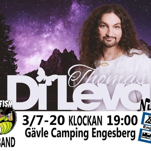 Res till Thomas Di Leva Night, Gävle camping Engesberg