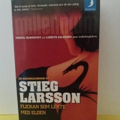 STIEG LARSSON FLICKAN SOM LEKTE MED ELDEN