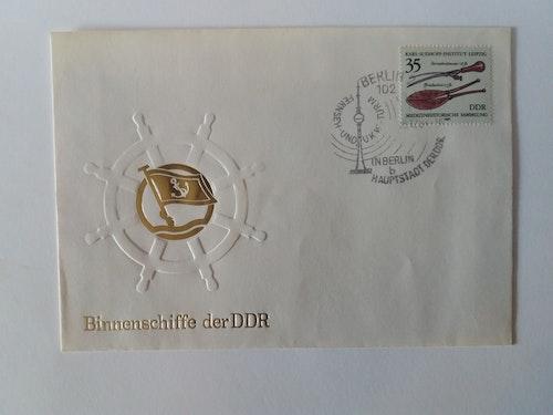 HISTORIK FÖRSTADAGSBREV  FRÅN DDR TIDEN