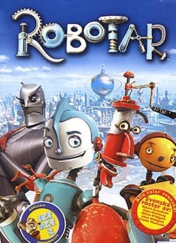 Robotar (Plastficka)    ( NY  )
