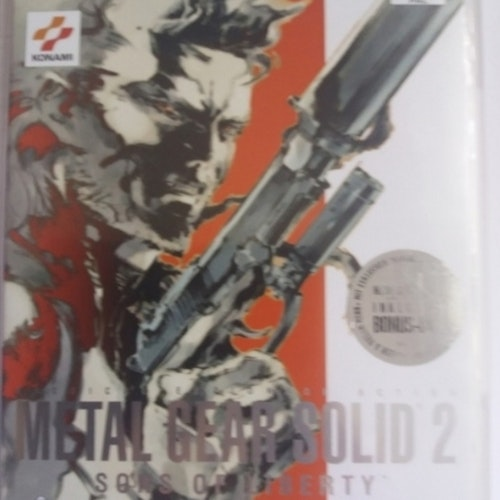 METAL GEAR SOLID 2 SONS OF LIBERTY  BEGAGNAD