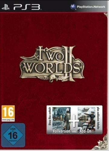 TWO WORLDS BOX PLAYSTATION 3