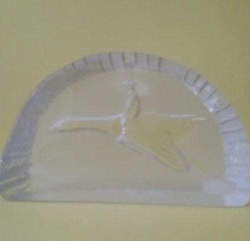 GLASSKULPTUR NILS HOLGERSSON