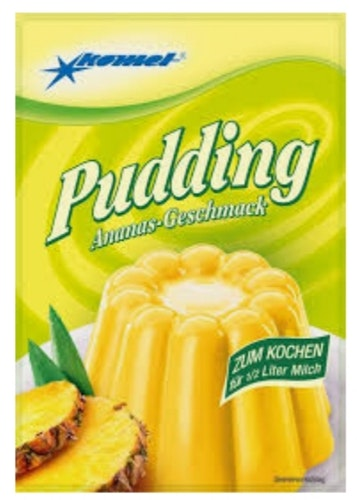 Pudding Ananas smak