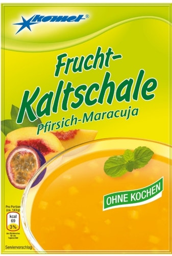 Frucht- kaltschale Peach-Passion